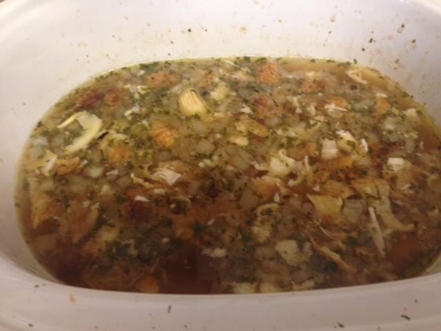 Rhonda Franz, slow cooker chicken soup recipe