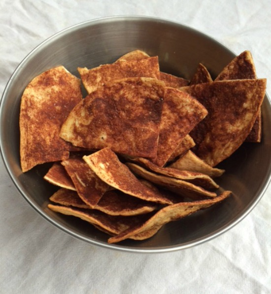 rescue recipe, captain mom cinnamon triangles