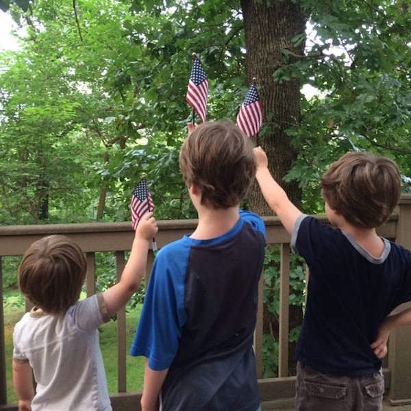 Fourth of July, Independence Day, Captain Mom, Rhonda Franz, Fourth of July 2015