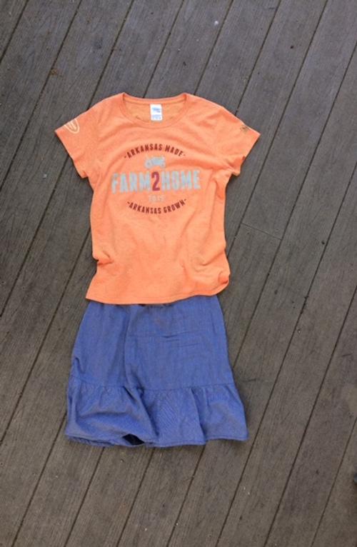 Farm2Home15 clothes, farm outfit, Moss Mountain, Rhonda Franz, Captain Mom
