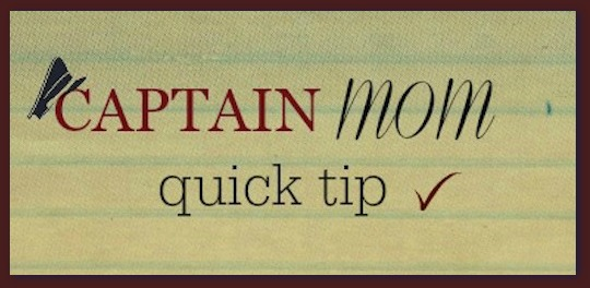Captain Mom quick tip, customer service tip, Rhonda Franz, live chats with customer service