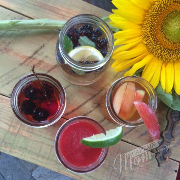 Summer drinks by Rhonda Franz, Taste Arkansas, Captain Mom, playdate