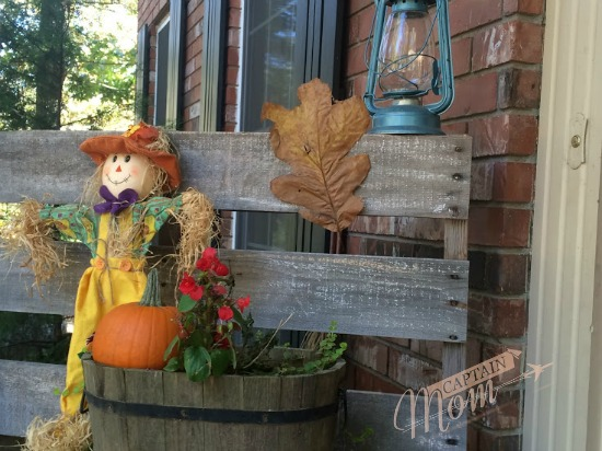 Captain Mom, Halloween 2015, Rhonda Franz, Halloween decorating
