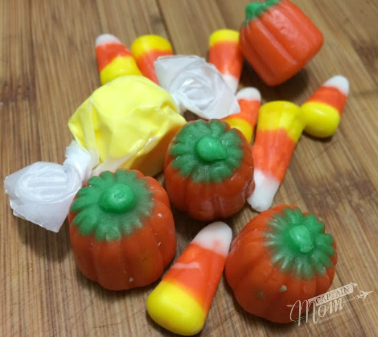 Captain Mom's leftover Halloween Candy