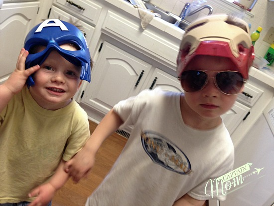 simple Halloween costumes by Rhonda Franz, Captain Mom