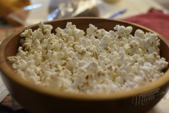 game day snacks, stovetop popcorn