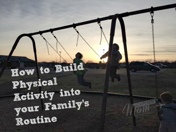 11 Ways to Include Physical Activity in Your Family's Routine