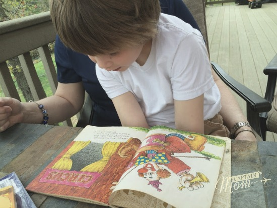 read children's books, reading to children