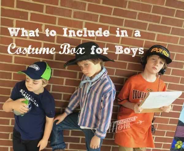 What to Include in a Costume Box for Boys