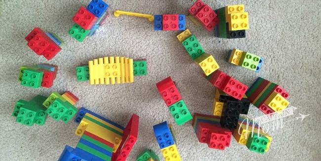 Lego Duplo blocks, Captain Mom