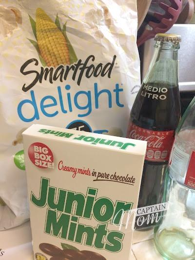 snack foods, pilot wives, movie night