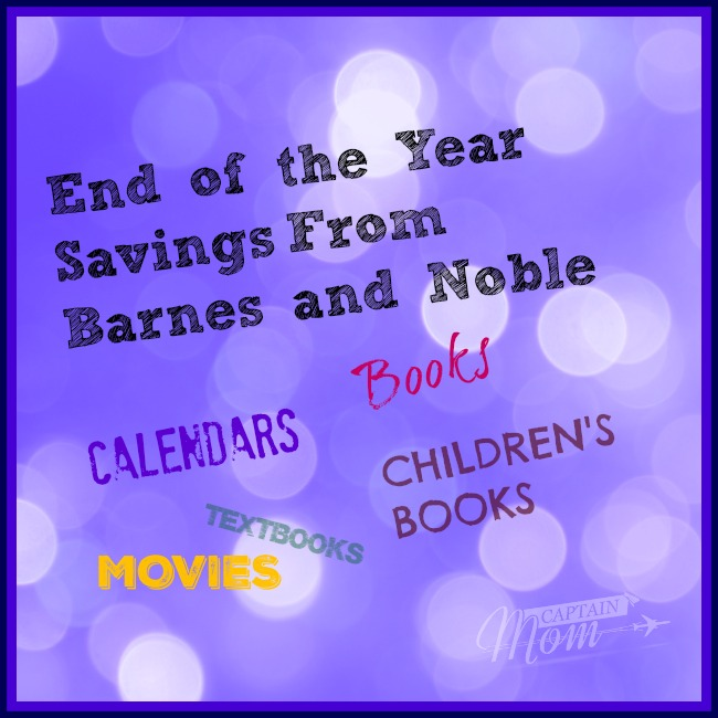 End-of-Year Savings at Barnes and Noble