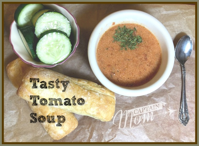 No-Measurement, One Pot Recipe: Tasty Tomato Soup